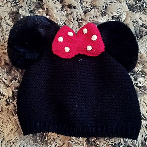 23333eaa5a4 disney baby Other - Disney Baby Baby Gap Minnie Mouse Beanie Hat